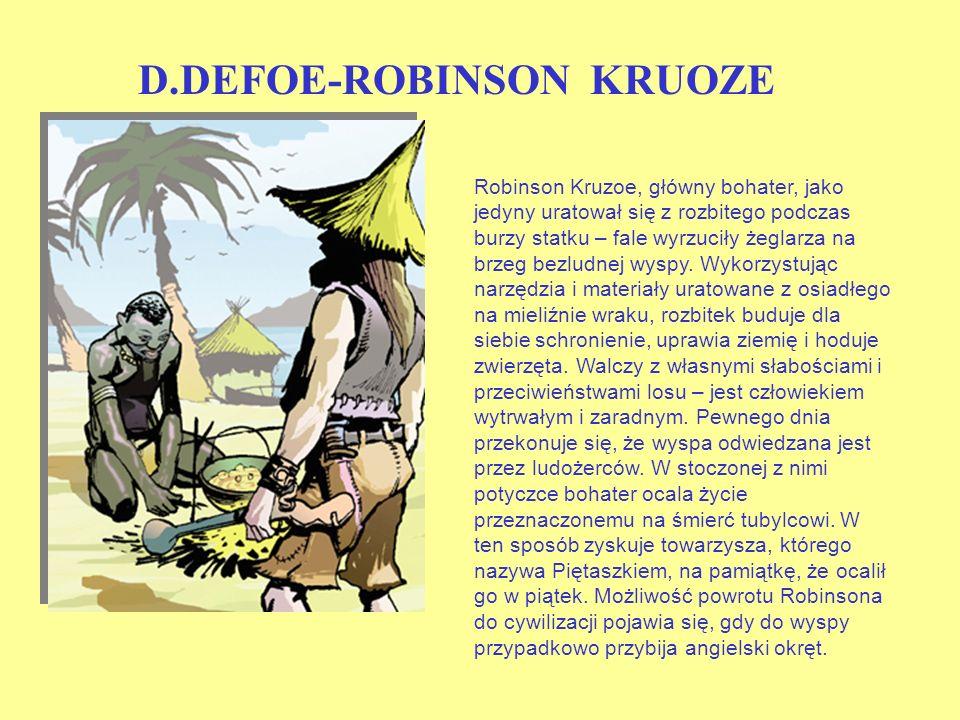 D.DEFOE-ROBINSON KRUOZE
