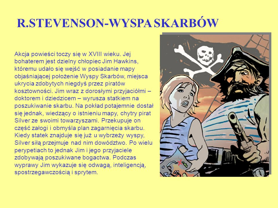 R.STEVENSON-WYSPA SKARBÓW
