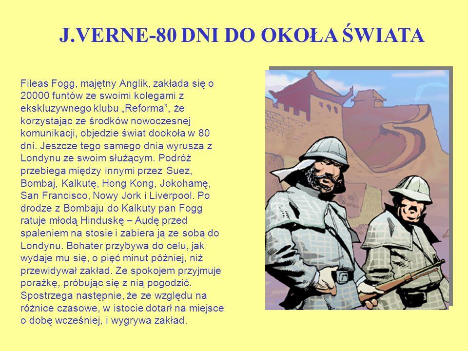 J.VERNE-80 DNI DO OKOŁA ŚWIATA