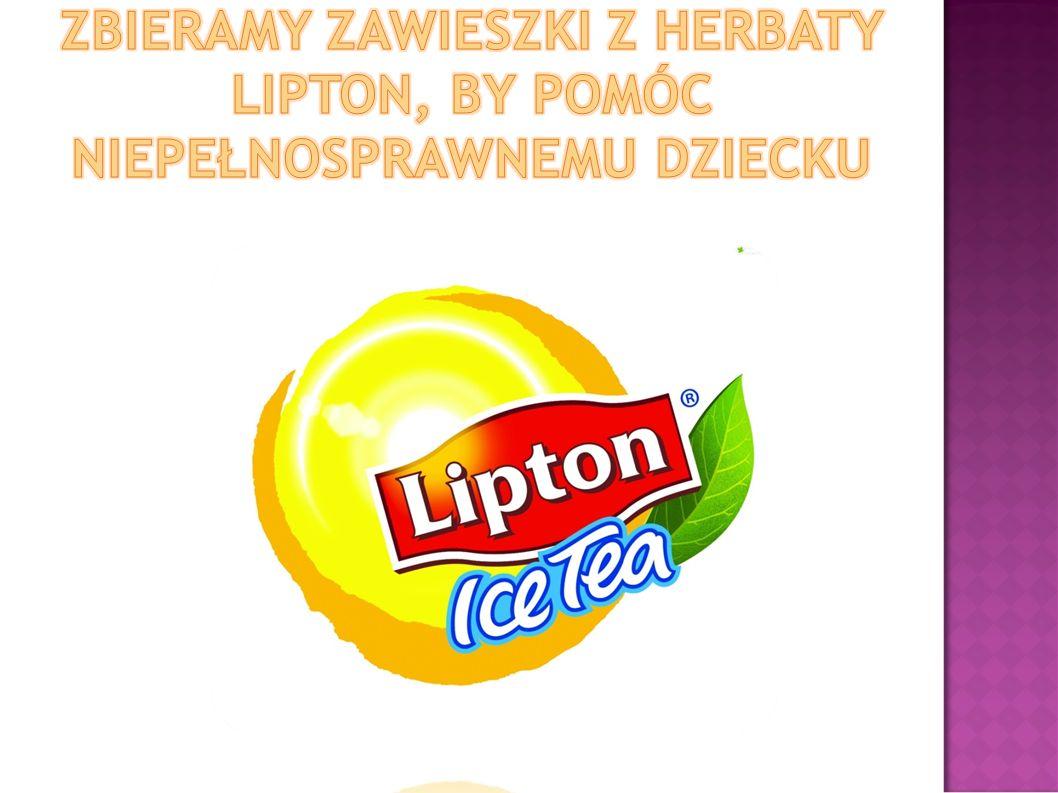ZBIERAMY ZAWIESZKI Z HERBATY LIPTON, BY POMÓC NIEPEŁNOSPRAWNEMU DZIECKU