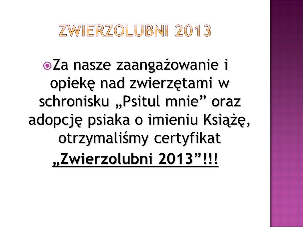 ZWIERZOLUBNI 2013