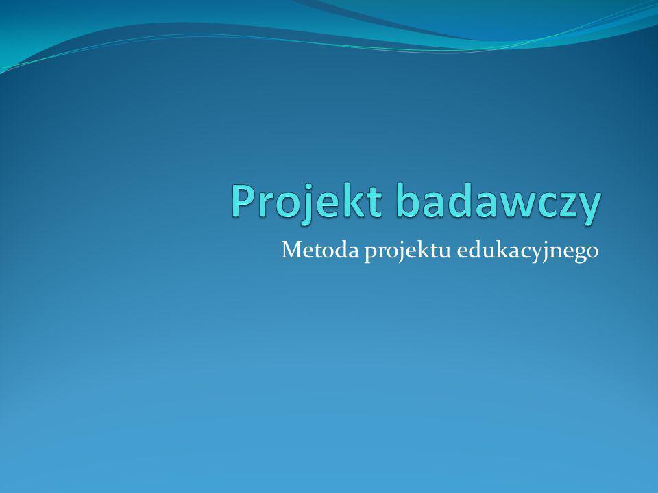 Metoda projektu edukacyjnego