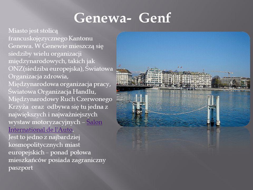 Genewa- Genf