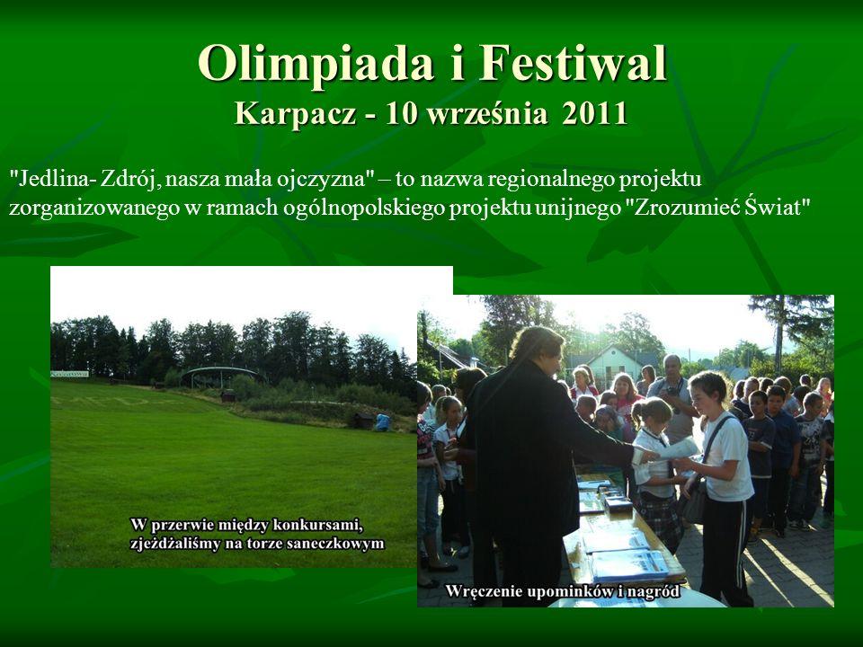 Olimpiada i Festiwal Karpacz - 10 września 2011