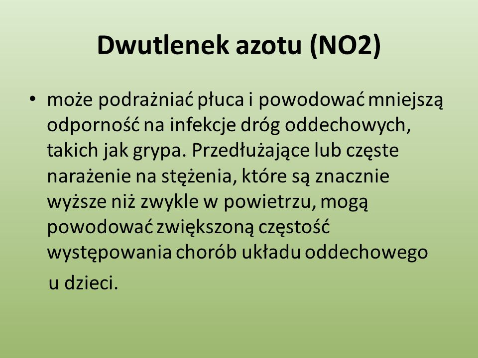 Dwutlenek azotu (NO2)