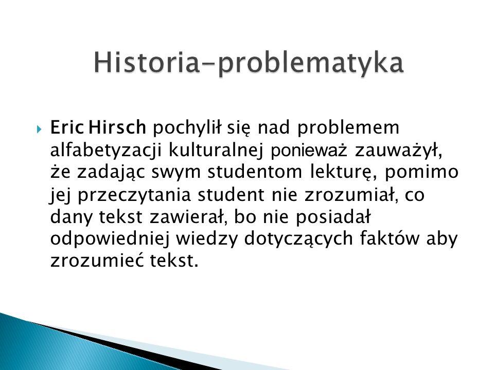 Historia-problematyka