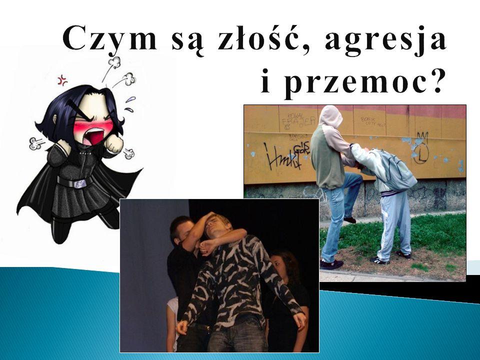 Czym są złość, agresja i przemoc