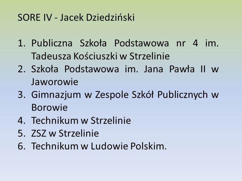 SORE IV - Jacek Dziedziński