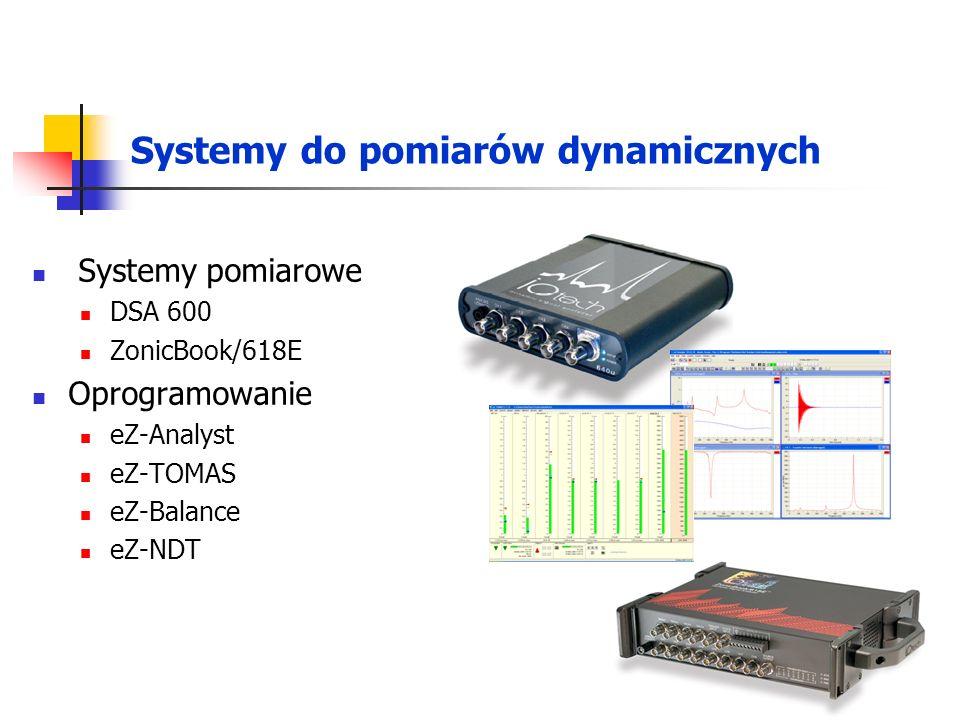 Systemy do pomiarów dynamicznych