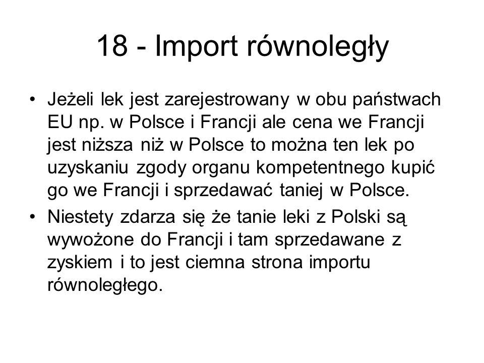 18 - Import równoległy