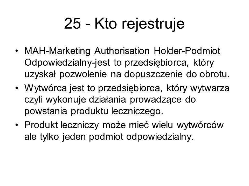 25 - Kto rejestruje