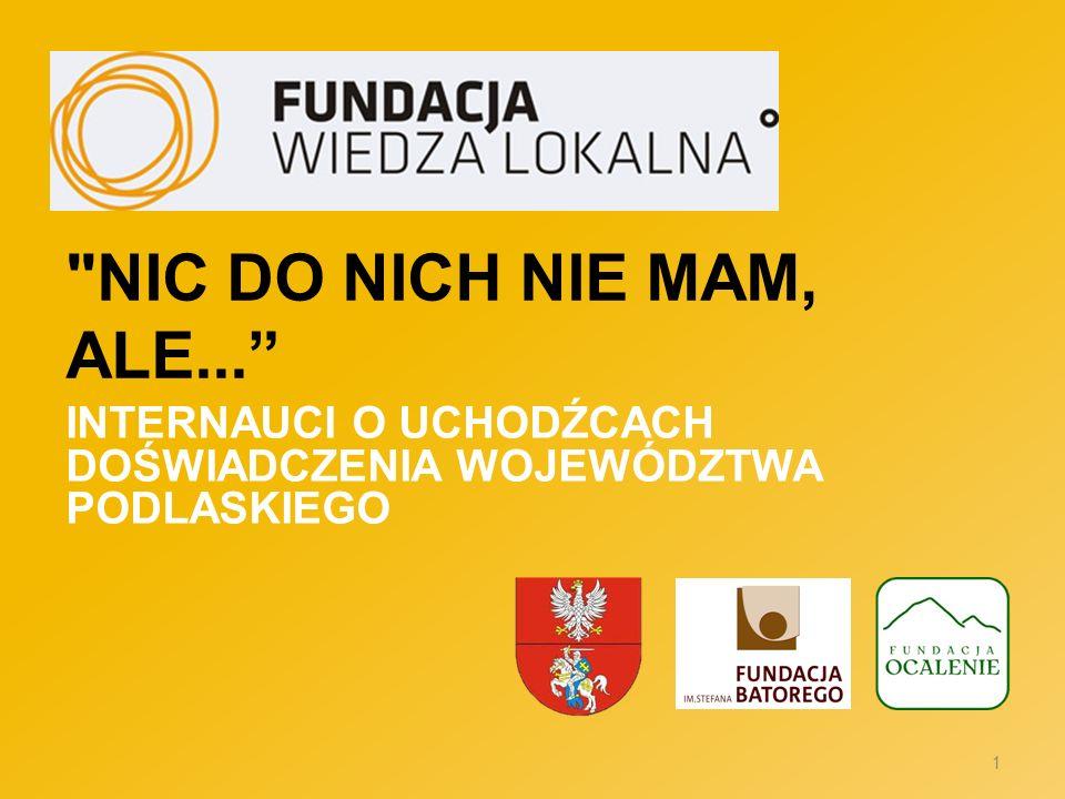 Internauci o uchodźcach Doświadczenia województwa podlaskiego