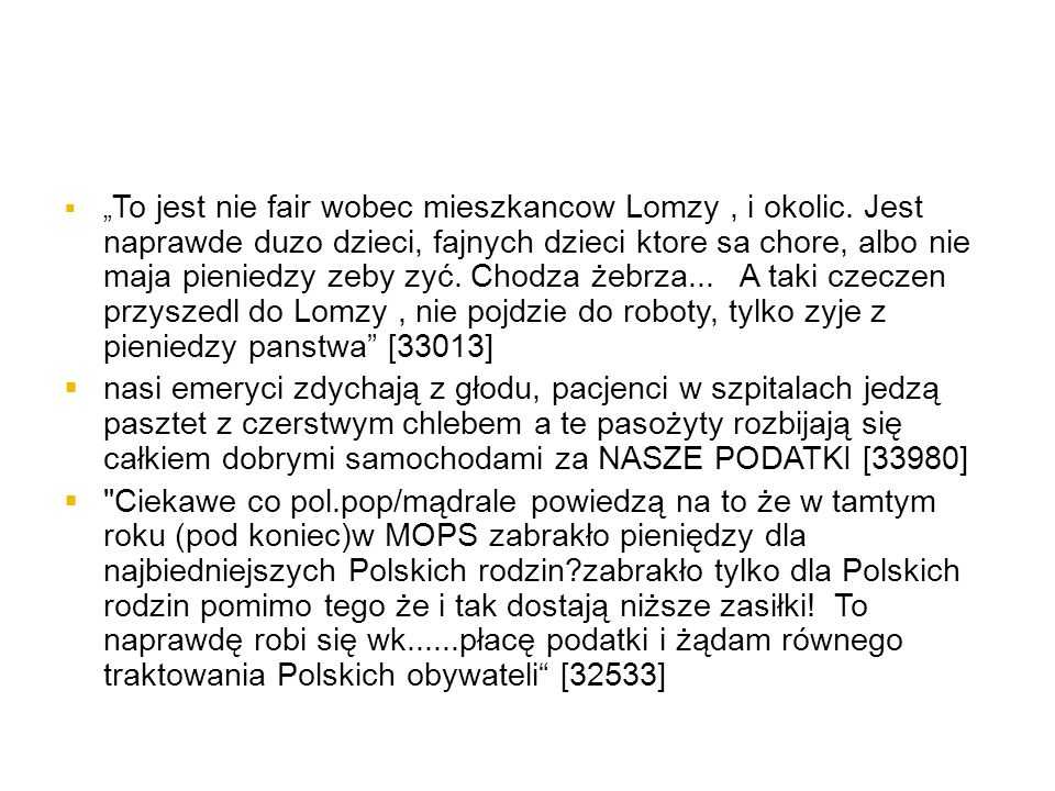 """""""To jest nie fair wobec mieszkancow Lomzy , i okolic"""