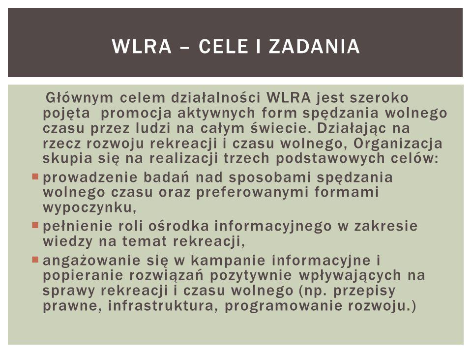 WLRA – CELE i zadania