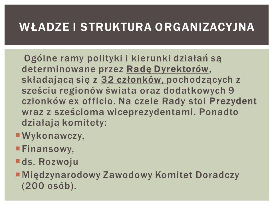 Władze i struktura organizacyjna