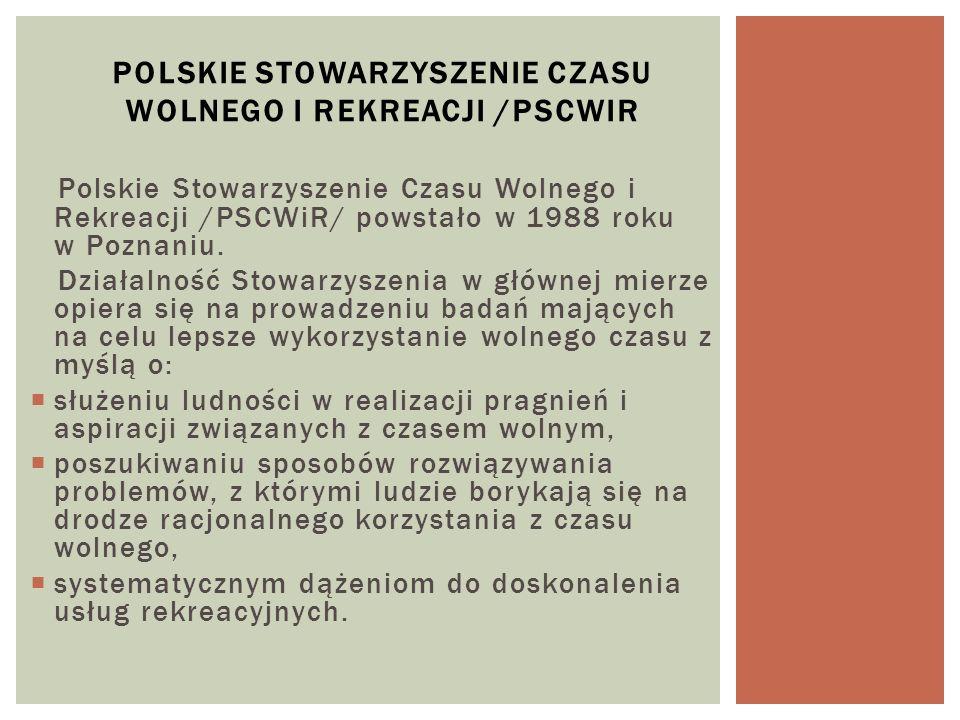 Polskie Stowarzyszenie Czasu Wolnego i Rekreacji /PSCWiR