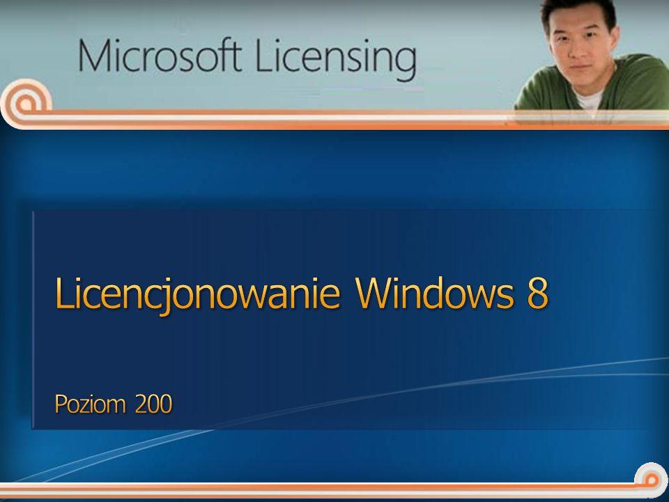 Licencjonowanie Windows 8