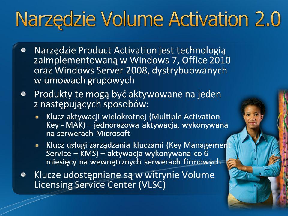 Narzędzie Volume Activation 2.0
