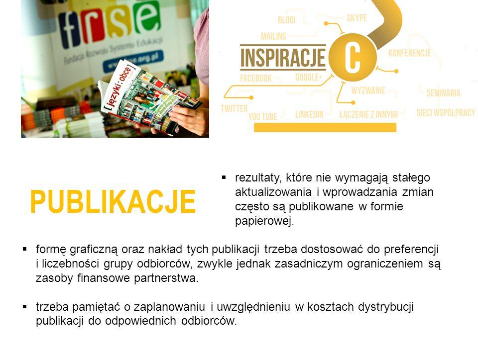 PUBLIKACJE NARZĘDZIA INTERNETOWE