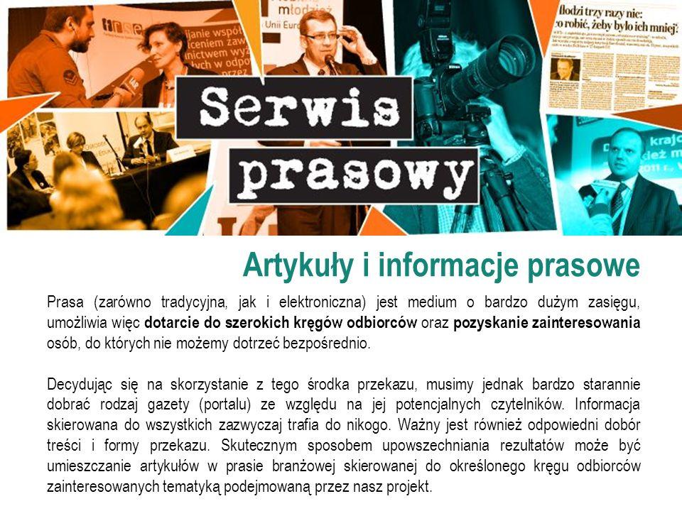 Artykuły i informacje prasowe