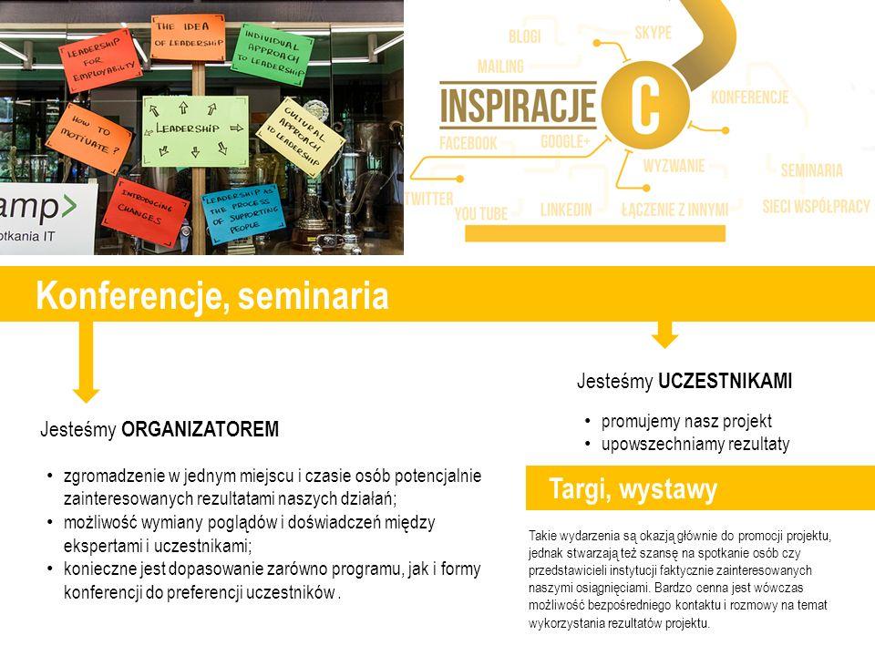 Konferencje, seminaria