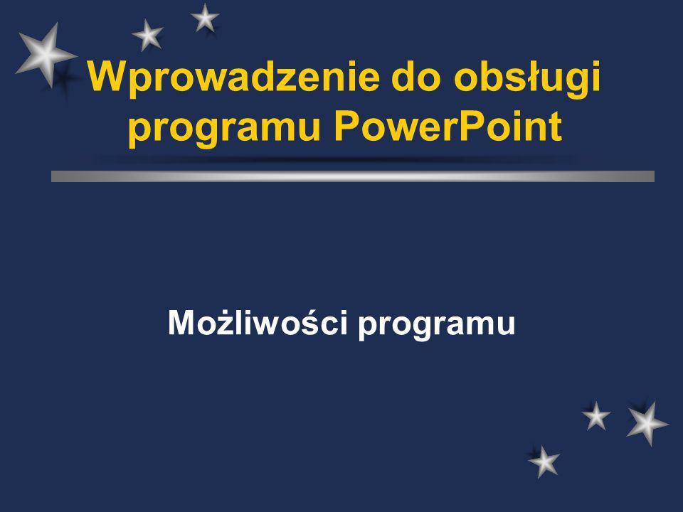 Wprowadzenie do obsługi programu PowerPoint