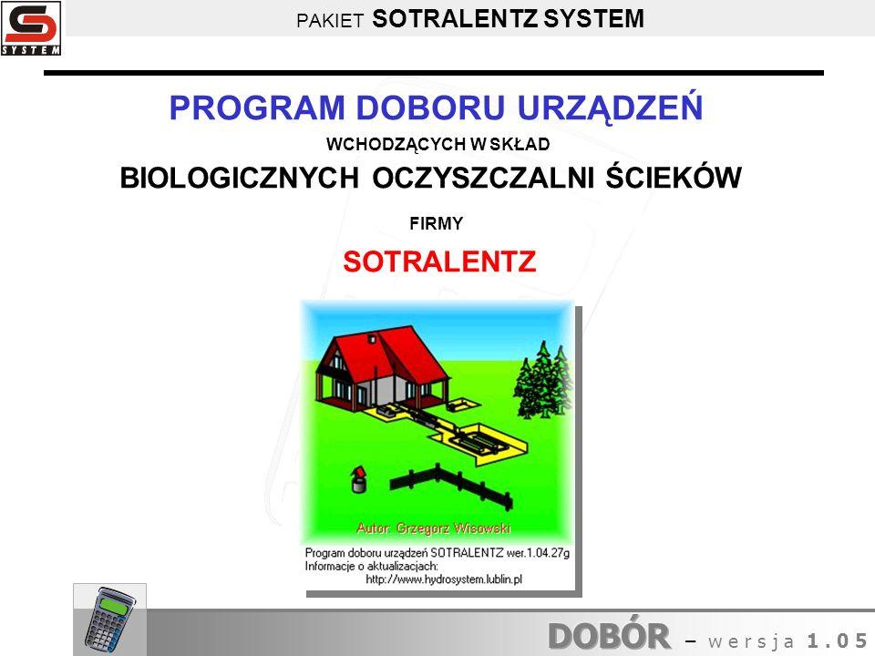 PAKIET SOTRALENTZ SYSTEM