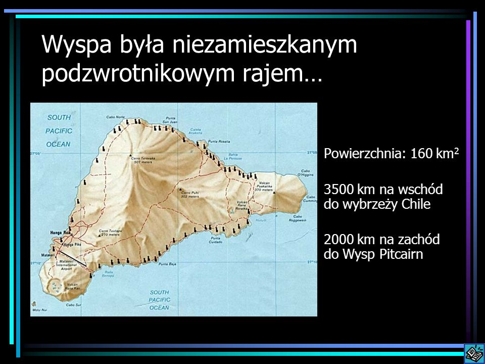 Wyspa była niezamieszkanym podzwrotnikowym rajem…