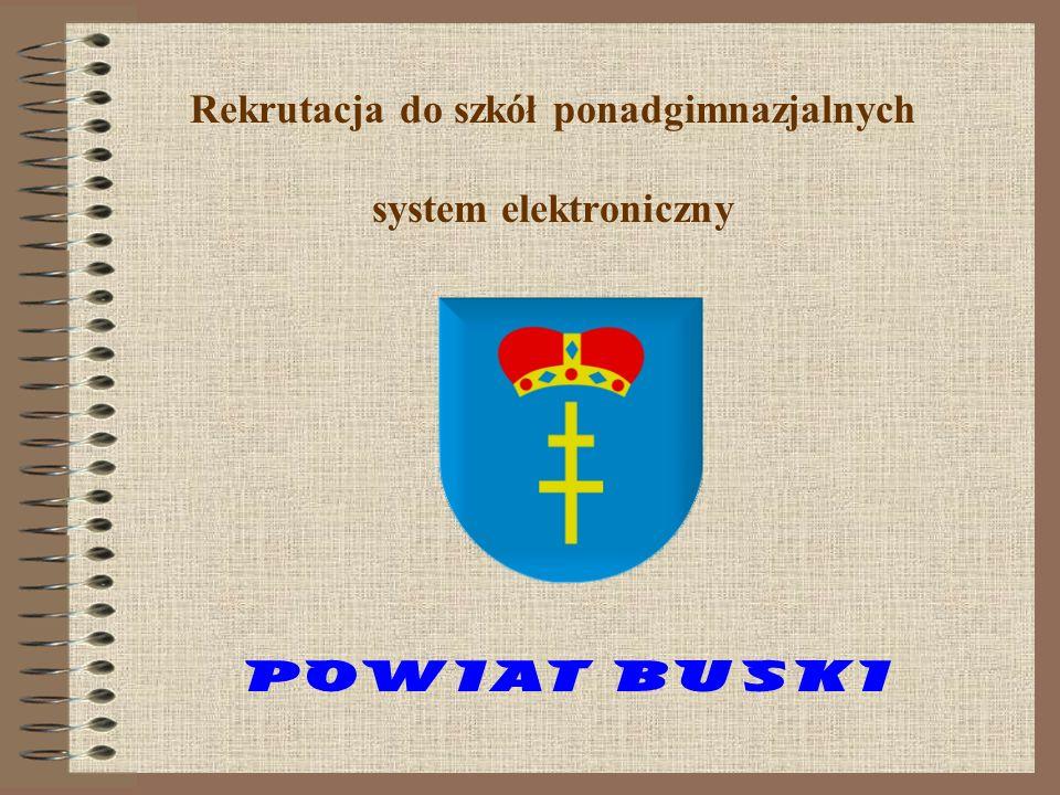Rekrutacja do szkół ponadgimnazjalnych system elektroniczny