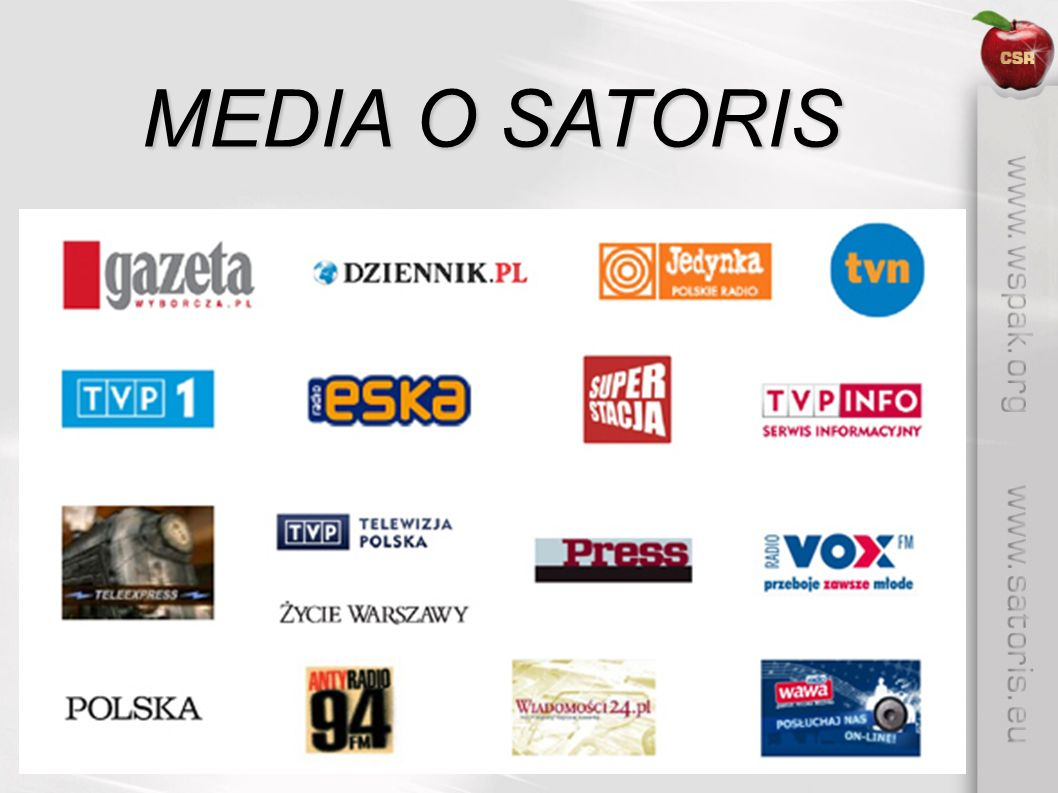 MEDIA O SATORIS
