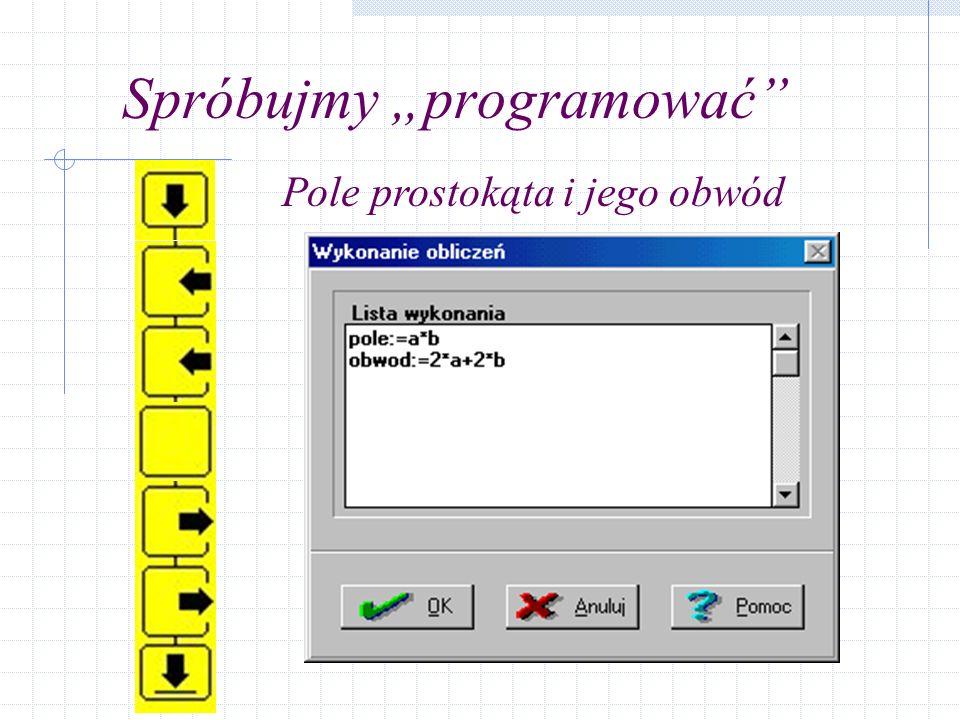 """Spróbujmy """"programować"""