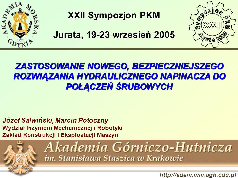 XXII Sympozjon PKM Jurata, 19-23 wrzesień 2005