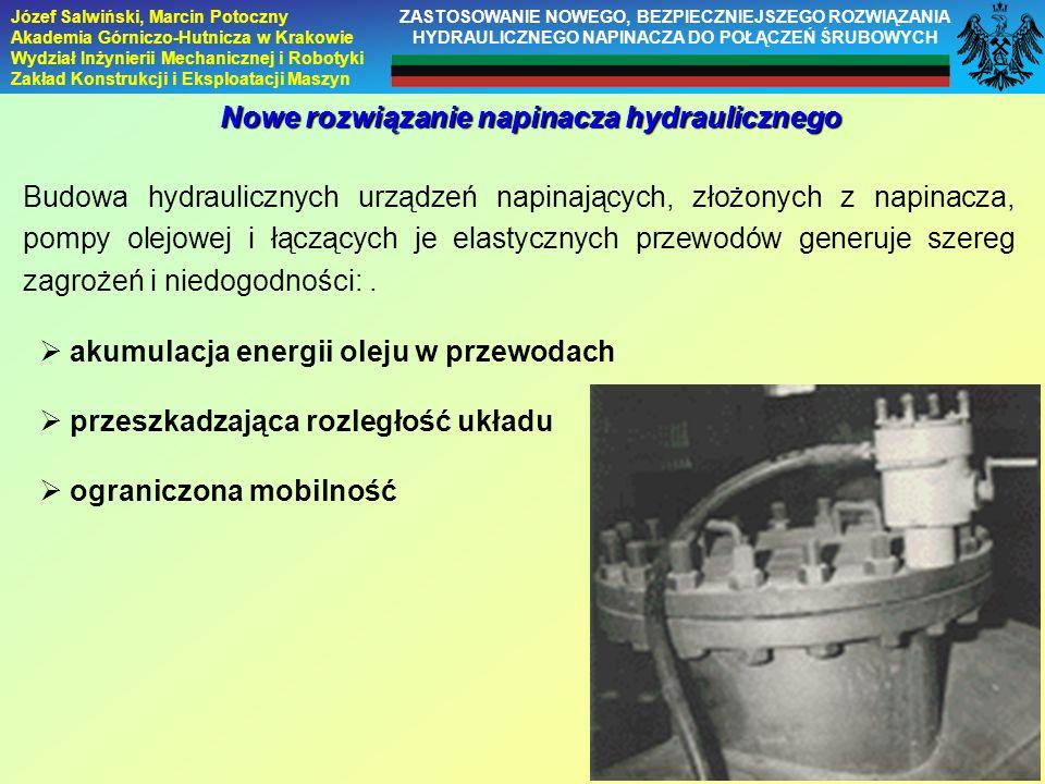 Nowe rozwiązanie napinacza hydraulicznego