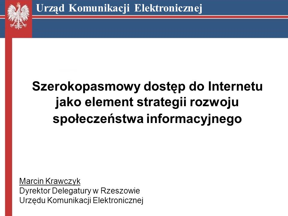 Szerokopasmowy dostęp do Internetu