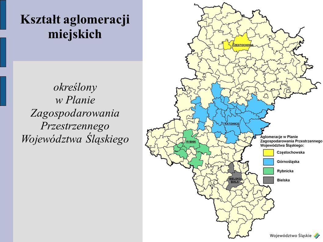Kształt aglomeracji miejskich