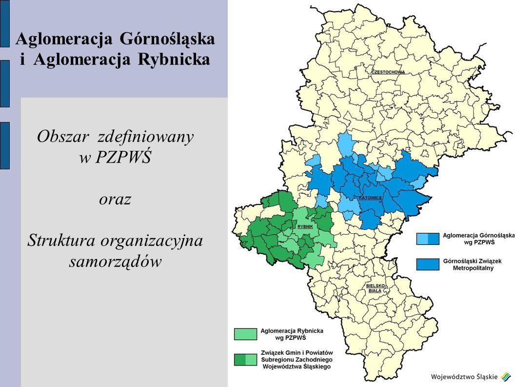 Aglomeracja Górnośląska i Aglomeracja Rybnicka
