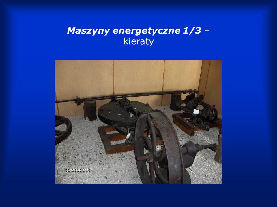 Maszyny energetyczne 1/3 – kieraty