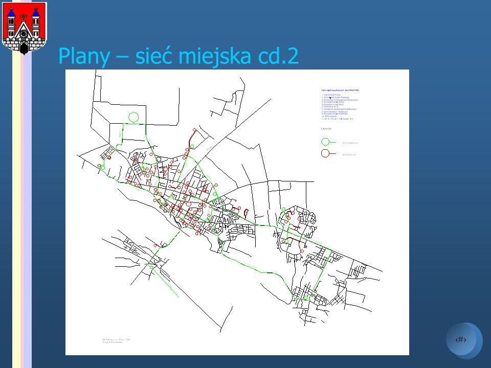 Plany – sieć miejska cd.2