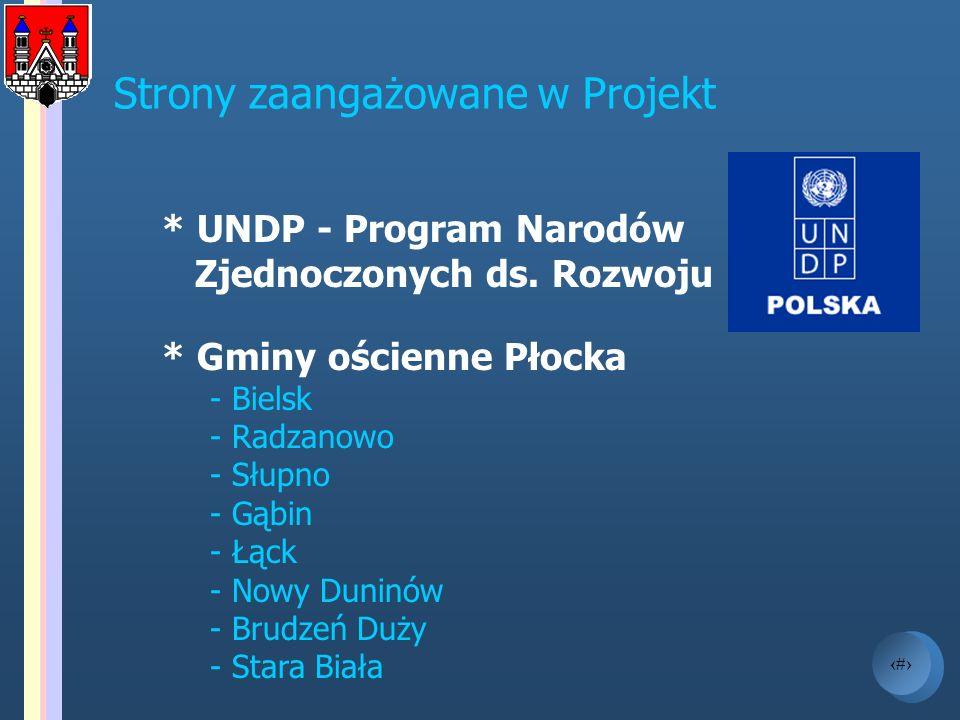 Strony zaangażowane w Projekt