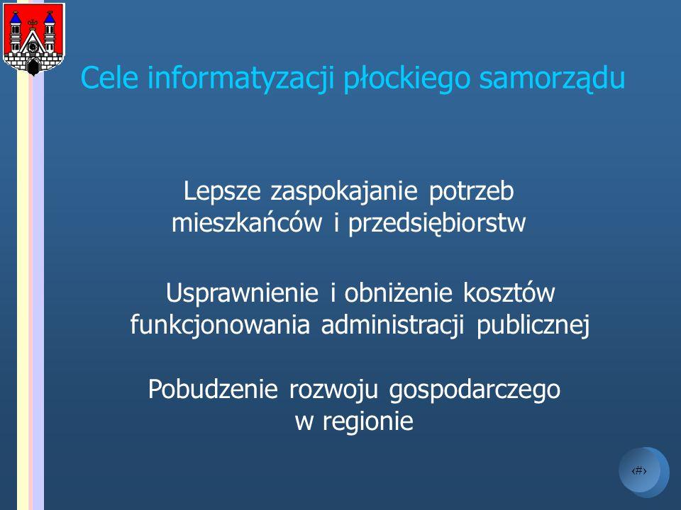 Cele informatyzacji płockiego samorządu