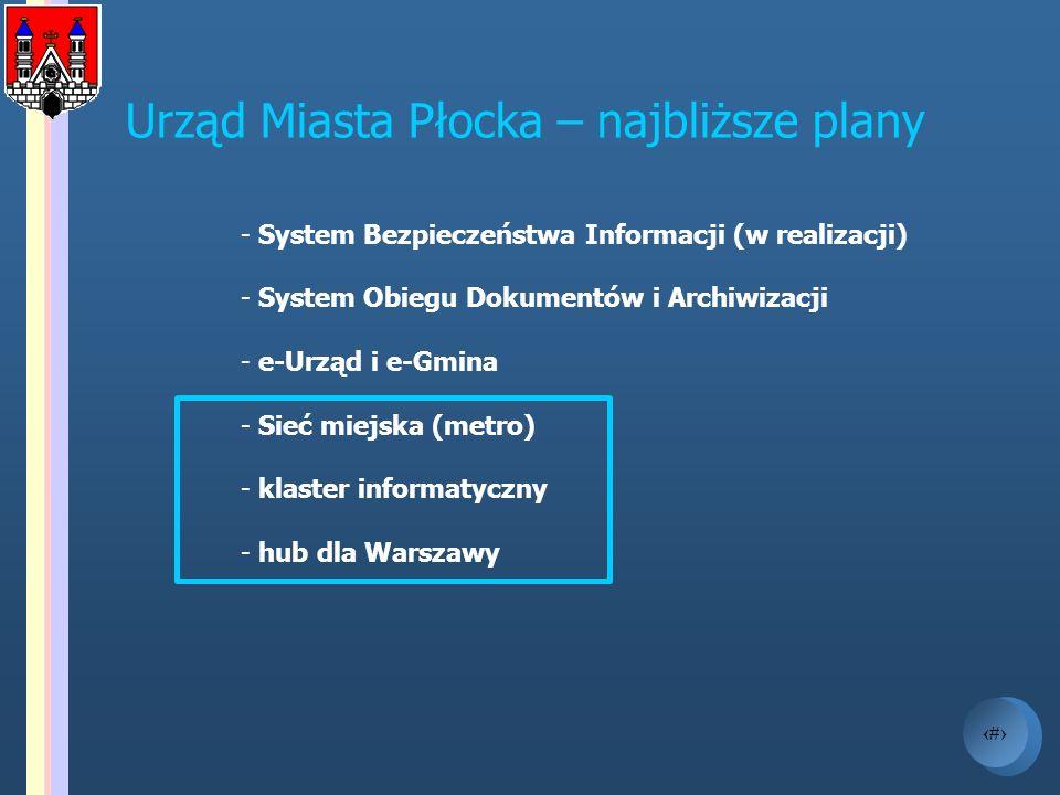 Urząd Miasta Płocka – najbliższe plany