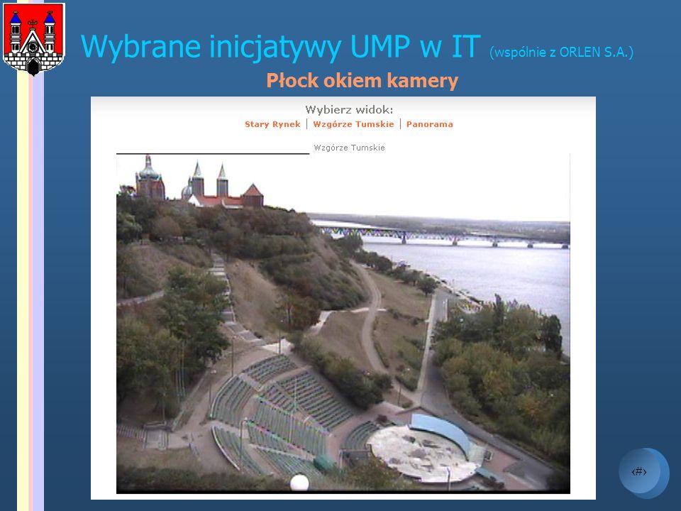 Wybrane inicjatywy UMP w IT (wspólnie z ORLEN S.A.)