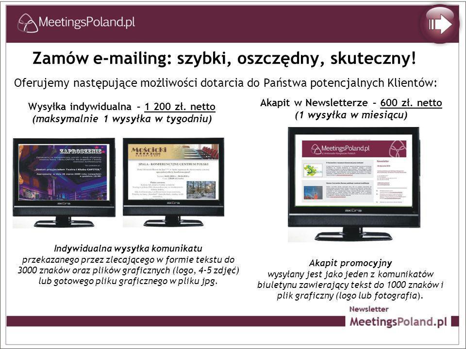 Zamów e-mailing: szybki, oszczędny, skuteczny!