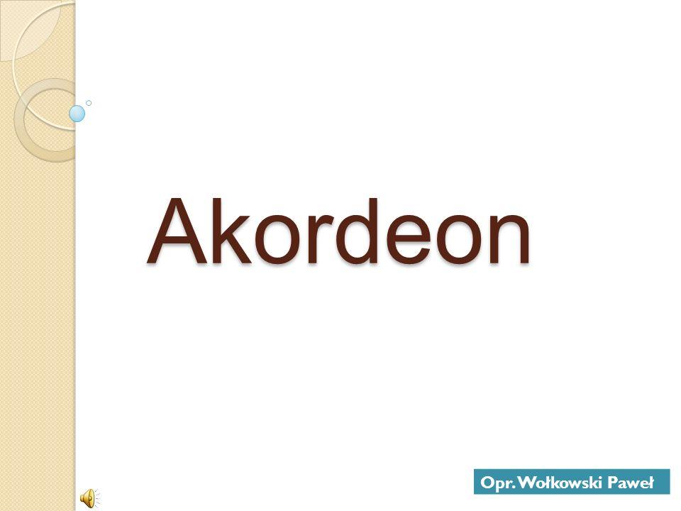 Akordeon Opr. Wołkowski Paweł