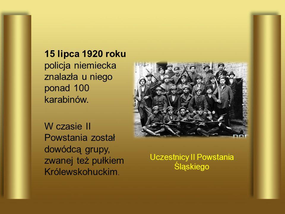 Uczestnicy II Powstania Śląskiego