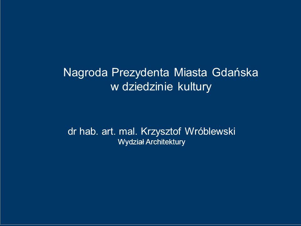 Nagroda Prezydenta Miasta Gdańska w dziedzinie kultury