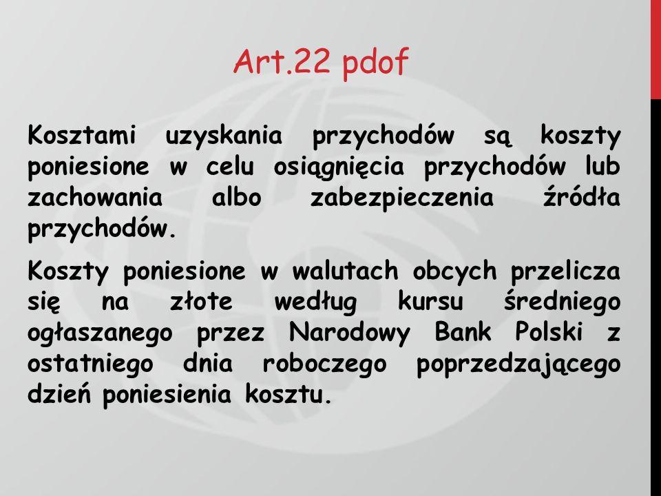 Art.22 pdof