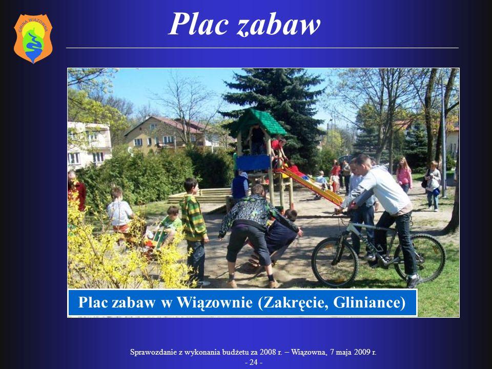 Plac zabaw w Wiązownie (Zakręcie, Gliniance)