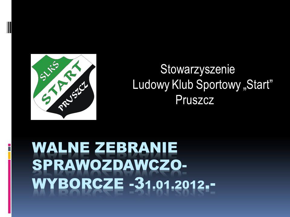WALNE ZEBRANIE SPRAWOZDAWCZO-WYBORCZE -31.01.2012.-