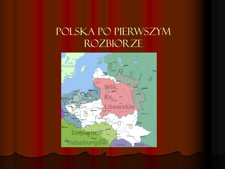 Polska po pierwszym rozbiorze
